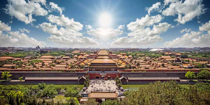 Beijing City View-Forbidden City