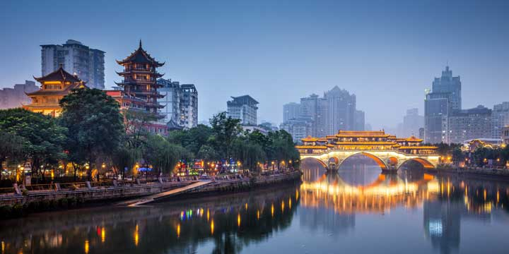 Chengdu City View