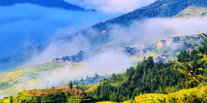 Longji Rice Terraces Guilin