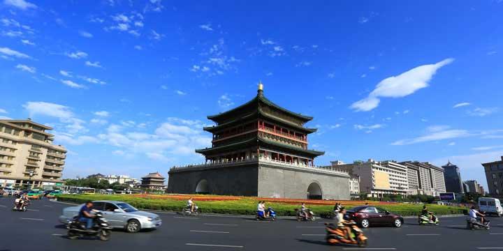 Xian City View