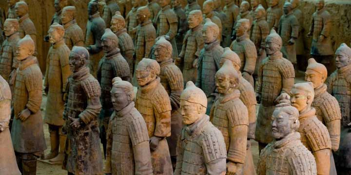 Terracotta Army & Warriors