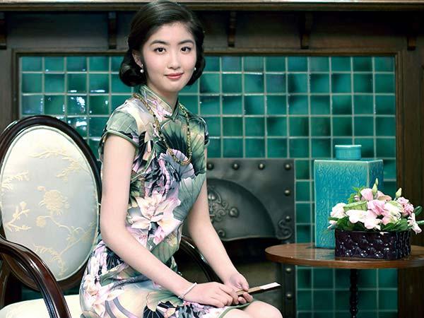 Cheongsam chinois