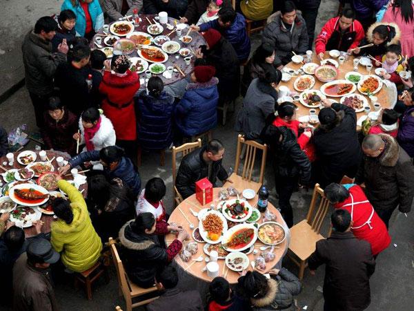 L'étiquette alimentaire en Chine