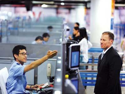 réglementation de l'entrée et de la sortie en Chine