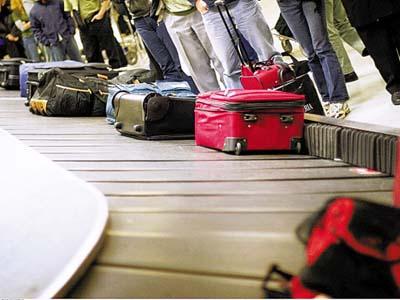 États de bagages en Chine