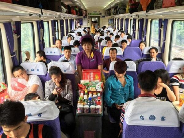 boire en train