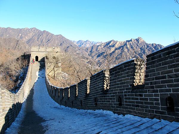Grande muraille à Pékin, Chine