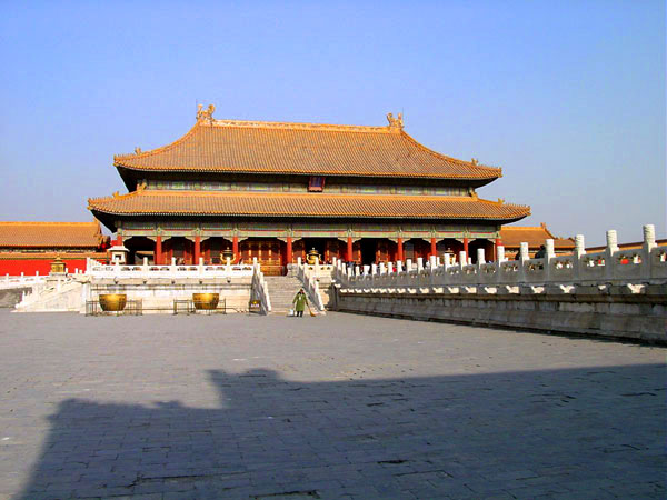 Cité interdit en Chine
