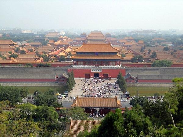 Cité interdit à Pékin Chine
