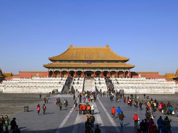cité interdit à Pékin