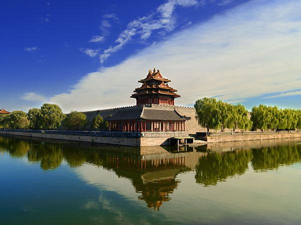 Meilleur voyage de 8 jours à la porte de la ville en Chine