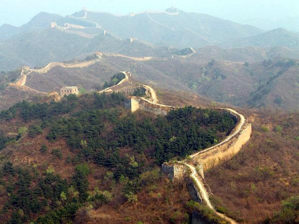 Grande Muraille à Pékin Chine