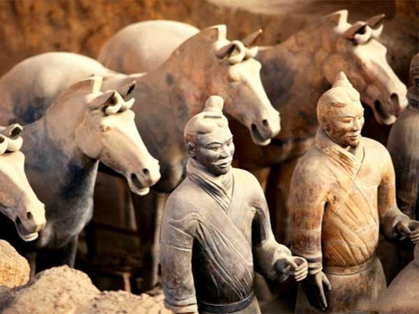 Les armées en terre cuite de Xian