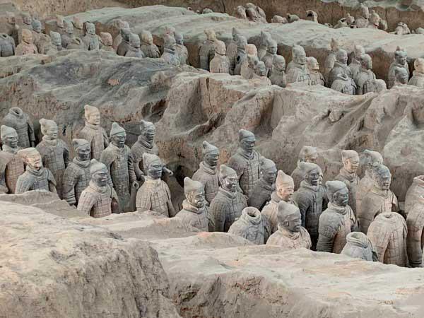 armées en terre cuite à xian