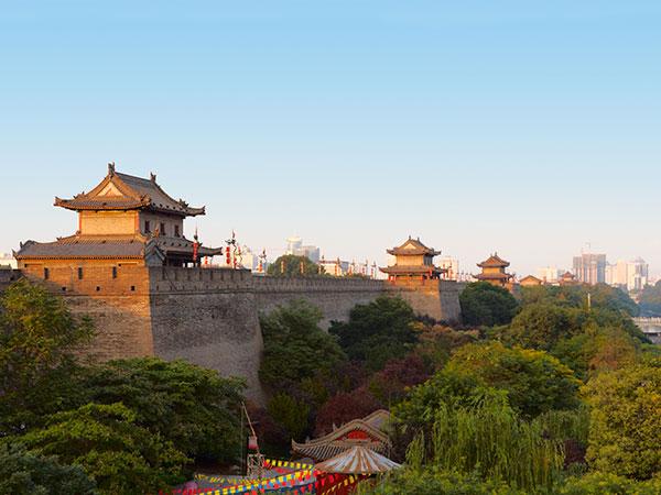 Remparts de la ville de Xian