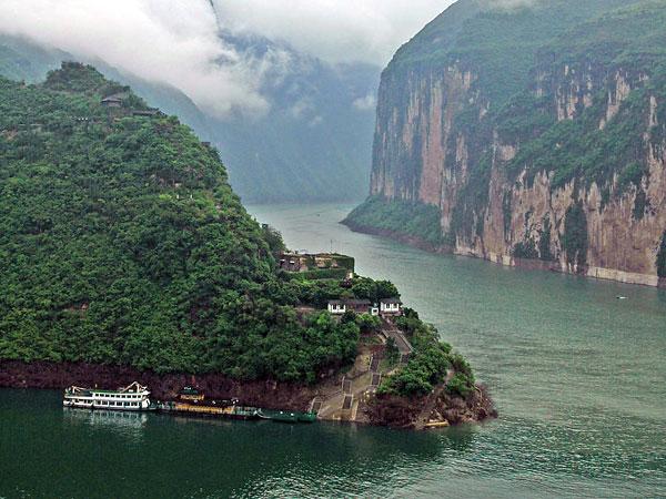 le Fleuve Yantzé en Chine