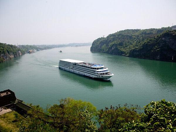 fleuve de Yangtze